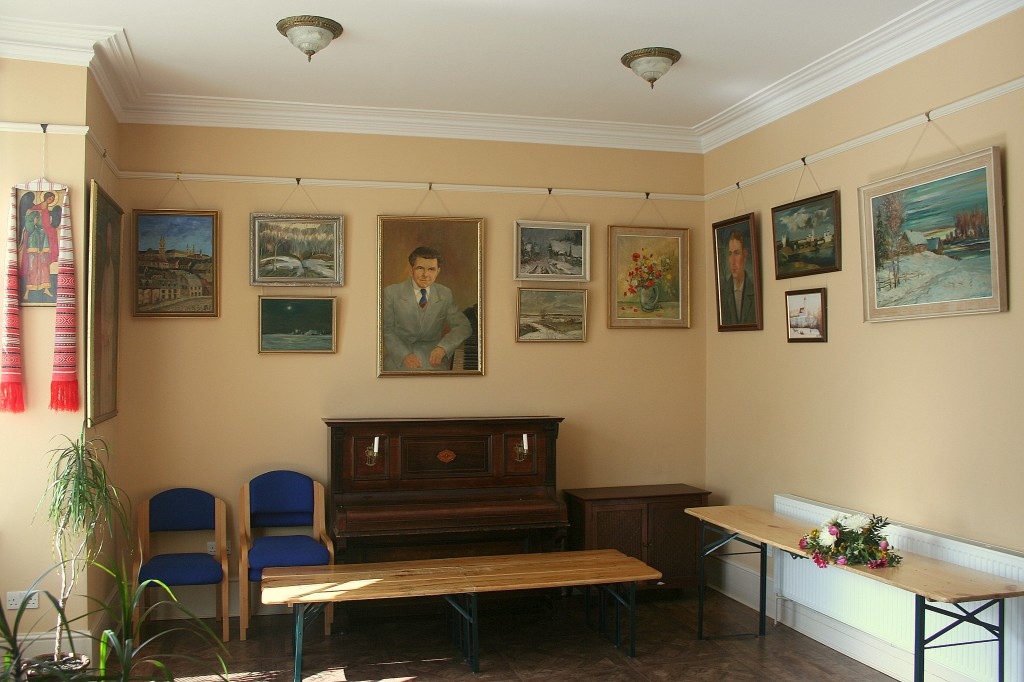 Wall decorations in Marian House