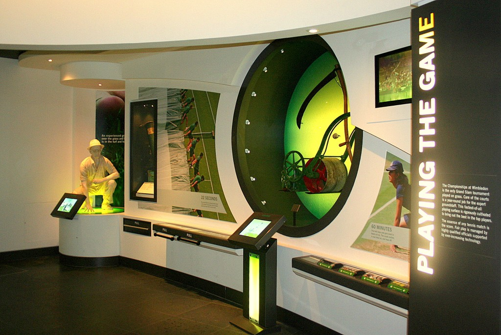 One of the rooms in the museum
