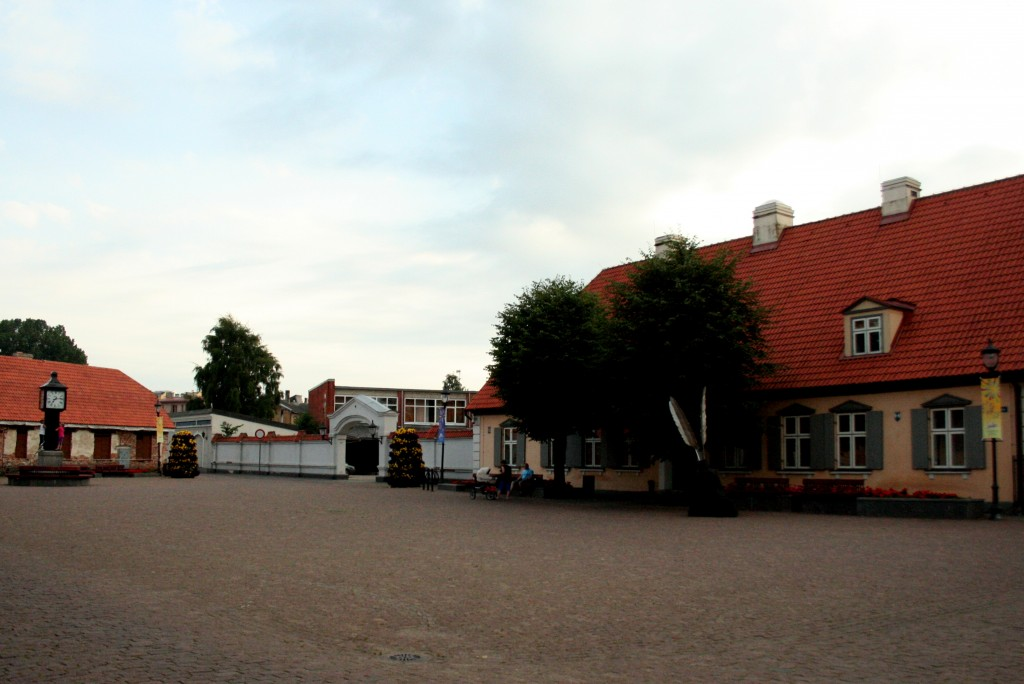 View of the residency looking from the main square